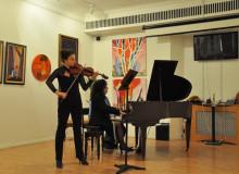 Matinée Concert by Yana Burova (violin) & Fiammetta Tarli (piano)