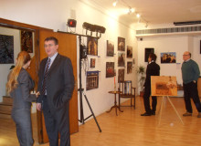 "Exhibition ""Culture in times of crisis"" under the patronage of the Ministry of the culture"